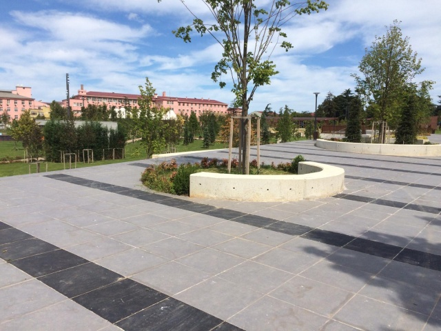 Trabzon'da Millet Bahçesi kısmen açıldı