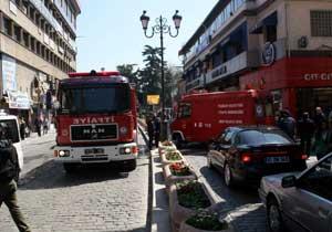 Trabzon'da hamamda yangın