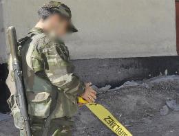 Çukurca'da bir asker intihar etti