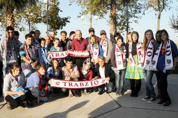 Alman öğrencilerden TS'ye ziyaret