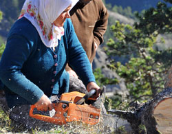 Karadeniz kadınlarındaki güç!