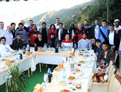 Trabzonspor'a moral yemeği