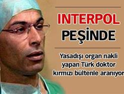 Türk doktor için kırmızı bülten