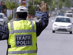Trabzon'da 1400 araç takibe takıldı