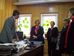 CHP'den öğretmenlere ziyaret