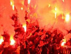Trabzonspor taraftarı coştu