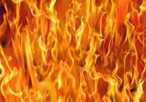 Yangını söndürürken öldü