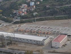 Teknik hizmet birimi inşaatı bitiyor