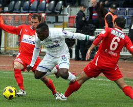 Karabük Antalyaspor'u yendi