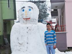 Dev kardan adam ilgi odağı