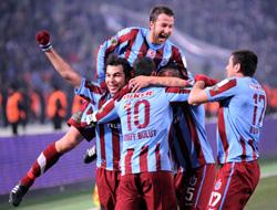 Trabzonspor lider bitirdi