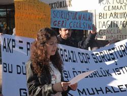 KTÜ'de protestolar bitmiyor!