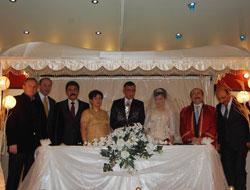 Turan Altuntaş'ın mutlu günü