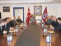 MHP'den Trabzonspor'a ziyaret