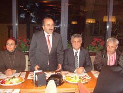 Trabzon AK Parti yemekte buluştu