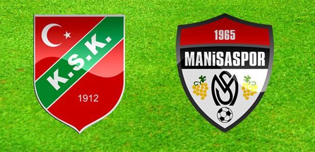 Karşıyaka ile Manisaspor 1-1