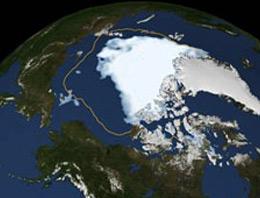 ABD kadar buzul, iki yılda gitti