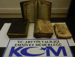 Artvin'de tarihi eser kaçakçılığı