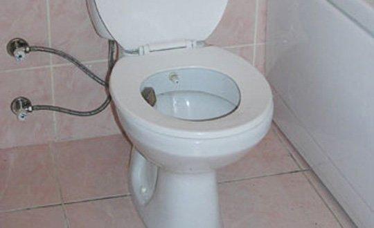 30 bin euroyu tuvalete attı!