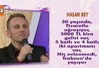 Trabzonlu yarışmacı gülmekten kırdı