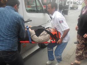 Beşirli'de Trafik kazası