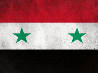 Suriye'de Türk bayraklı gösteri