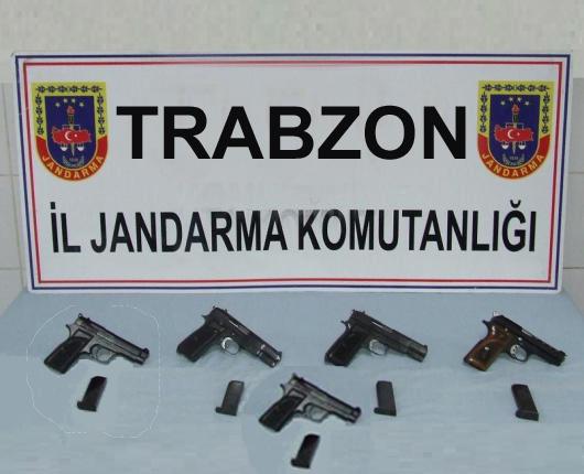 Trabzon'da 75'lik kaçakçı Dede