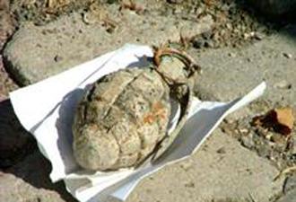 Ankara'da üst geçitte el bombası bulundu