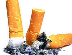 Gümüşhane'de kaçak sigara