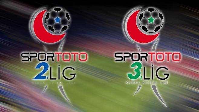 2.ve 3.lig'de alınan sonuçlar
