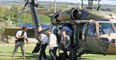 Bakan helikopterine PKK füzesi
