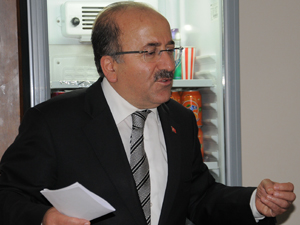 Gümrükçüoğlu Algün'ü ziyaret etti