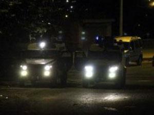 Hakkari'de gergin bir gece yaşandı