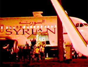 Bir uçak açıklaması da Suriye'den...