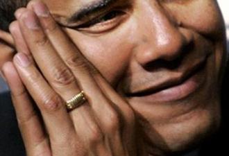 Obama'nın yüzüğündeki yazı
