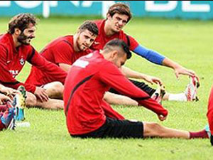Trabzon'da Beşiktaş hazırlakları