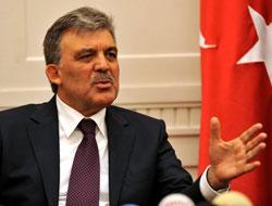 Gül'den 'veto' ile ilgili flaş açıklama