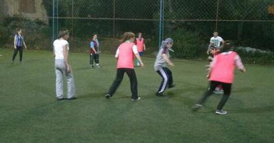 Trabzon'da futbol sever kadınlar