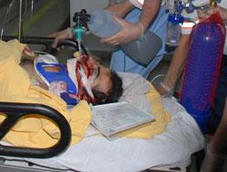 Bitlis'te herkes hastaneye akın etti