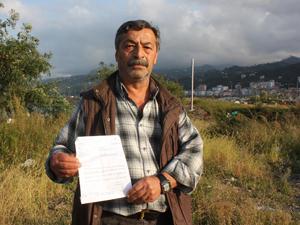 Giresun'da vatandaş böbreğini satıyor