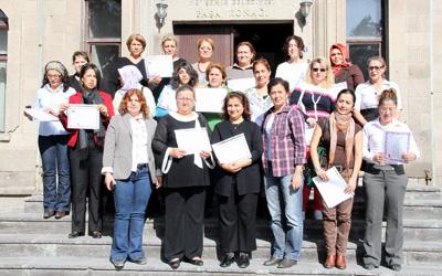 Trabzonlu kadınlar Nevşehir'de hak arıyor