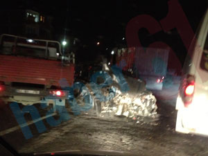 Trabzon'da Gümüşhane yolunda kaza