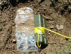 80 kilo bomba bulundu