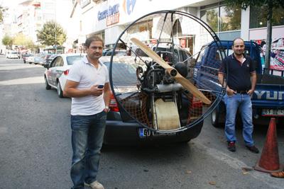 Trabzon'un uçan adamı