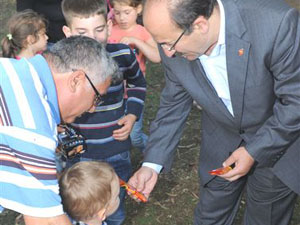 Gümrükçüoğlu, piknik alanını ziyaret etti