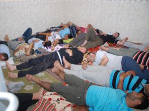 Türk hacı adaylarına Irak'ta kötü muamele