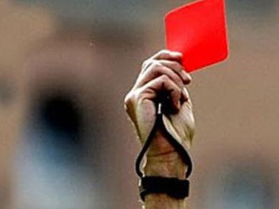 Bir maçta 36 kırmızı kart çıktı