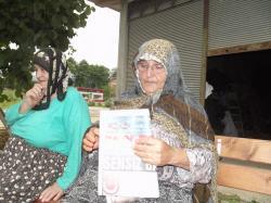 Araklı'da bir kadına araç çarptı