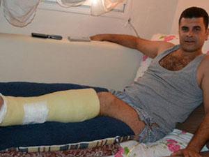 Foça'daki patlamada yaralanmıştı...!