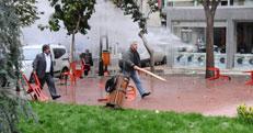 BDP yürüyüşünde olay